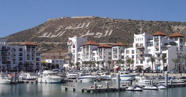 Flights from London to Agadir