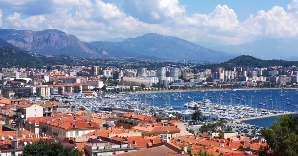 Flights from Ajaccio