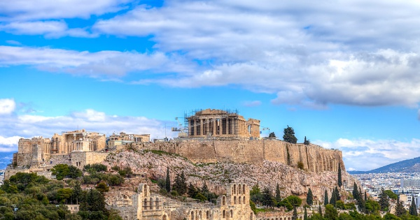 Flights from London to Athens