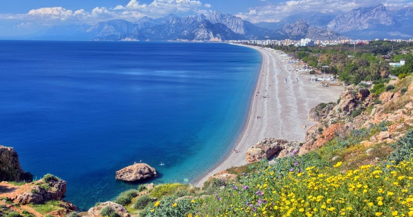 Flights from Edinburgh to Antalya