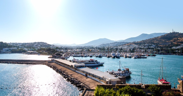 Flights from Manchester - Ringway to Bodrum - Milas