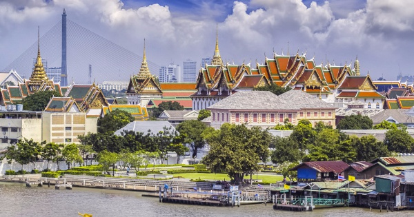 Flights from Edinburgh to Bangkok - Suvarnabhumi