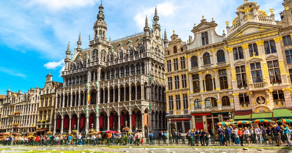Flights from San Salvador to Brussels - National