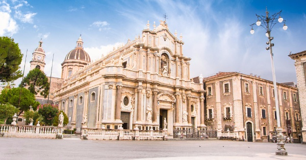 Flights from London to Catania - Fontanarossa