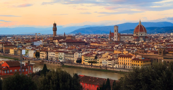Flights from London - Stansted to Florence - Peretola