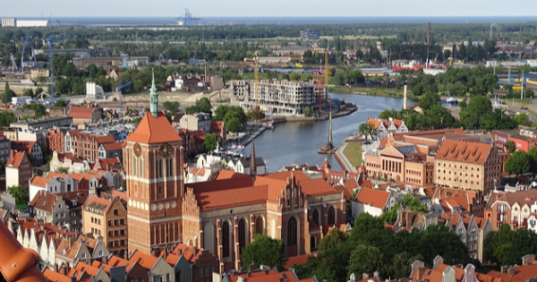 Flights from London to Gdansk - Rebiechowo