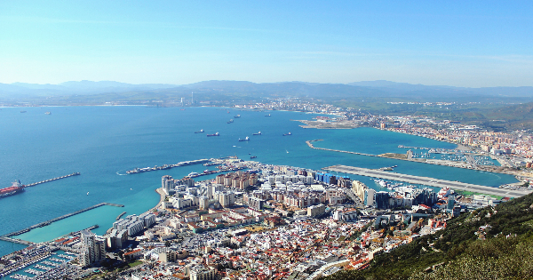 Flights from Paris to Gibraltar - North Front
