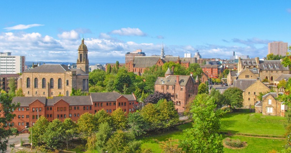 Vuelos de Los Ángeles a Glasgow - International