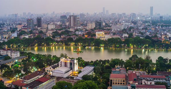 Flights from Cardiff to Hanoi - Noibai