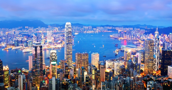 Flights from Cardiff to Hong Kong
