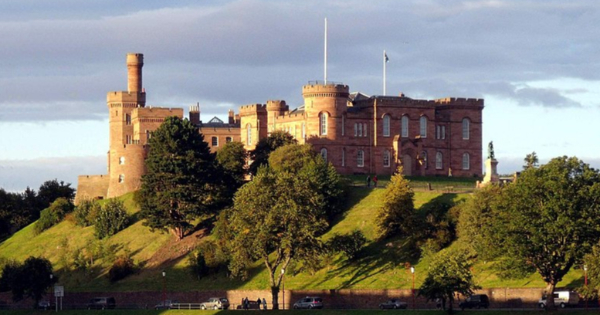 Flights from London to Inverness