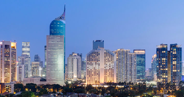 Flights from London to Jakarta