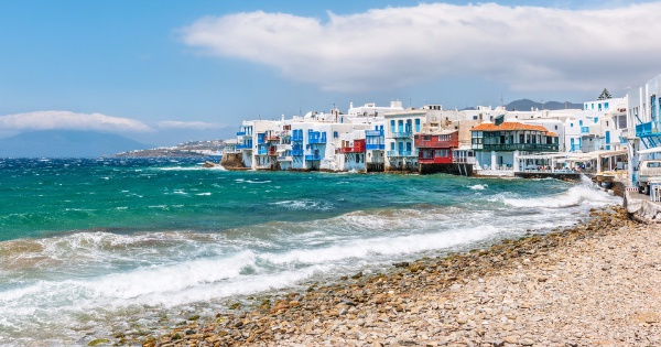 Flights from Glasgow - International to Mykonos