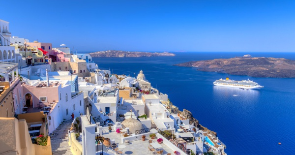 Flights from London - Heathrow to Thira