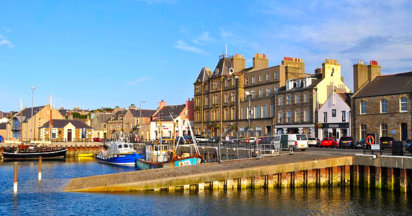 Flights from London to Kirkwall