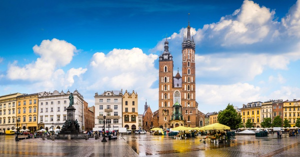 Flights from Manchester to Krakow - John Paul II Balice