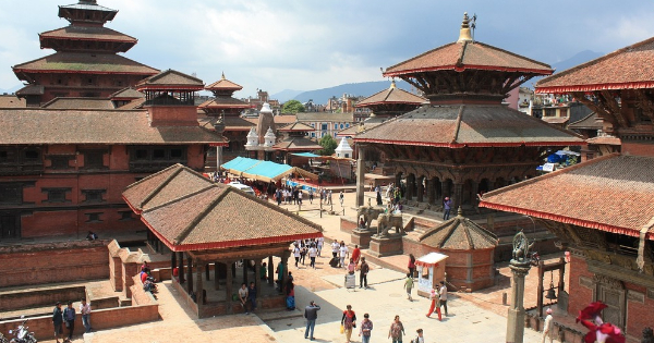 Flights from London to Kathmandu