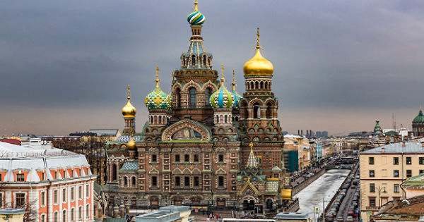 Flights from New York City to Saint Petersburg