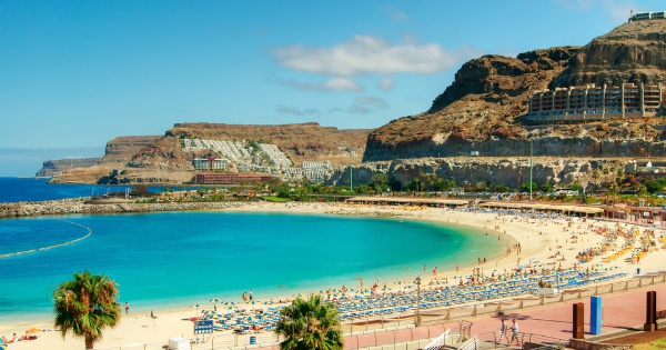 Flights from Trondheim - Vaernes to Las Palmas de Gran Canaria