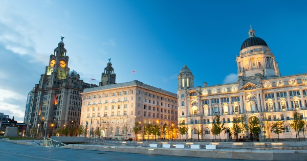 Flights from Corvera - Region of Murcia to Liverpool