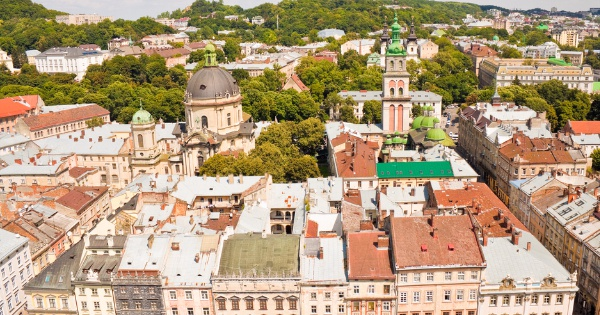 Flights from London - Heathrow to Lviv
