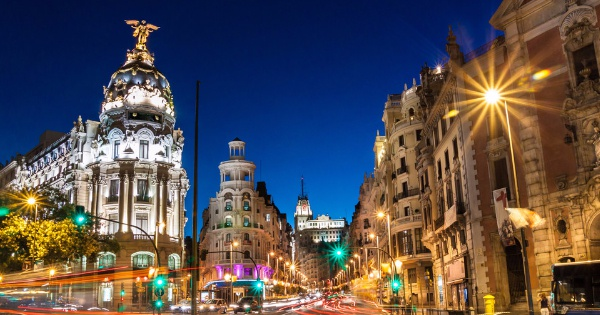 Flights from Exeter to Madrid