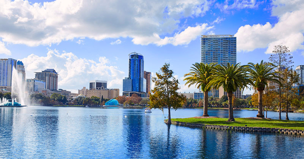 Flights from Edinburgh to Orlando - International