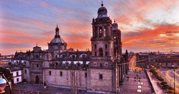 Flights from Cancun to Mexico City - International