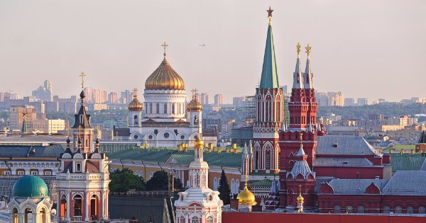 Flights from Edinburgh to Moscow