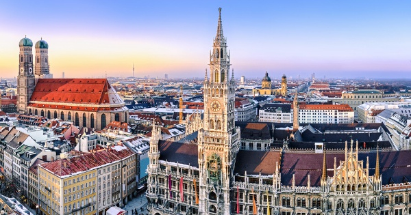 Flights from London to Munich