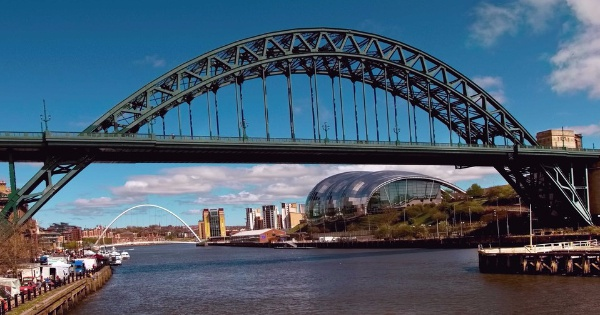 Vuelos de Londres - Southend a Newcastle