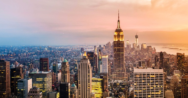 Flights from Manchester - Ringway to New York City