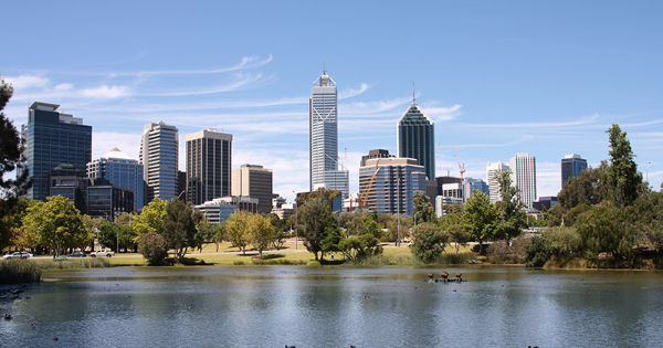 Flights from Birmingham to Perth
