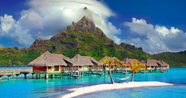 Flights from Paris to Tahiti - Faa'a Papeete