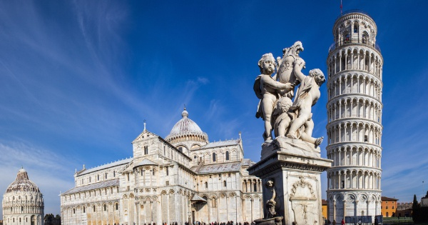 Flights from London - Stansted to Pisa - Galileo Galilei