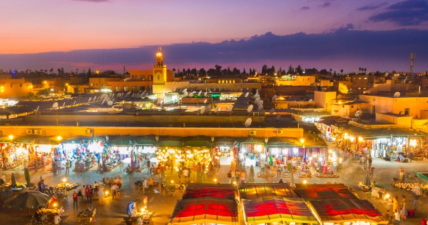 Flights from London to Marrakesh