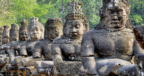 Flights from Manchester - Ringway to Siem Reap