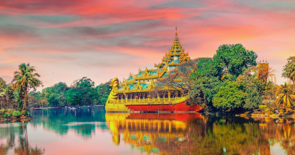 Flights from London - Heathrow to Yangon - Mingaladon