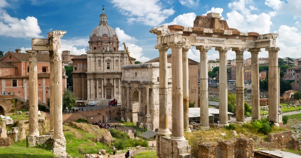 Flights from Manchester - Ringway to Rome