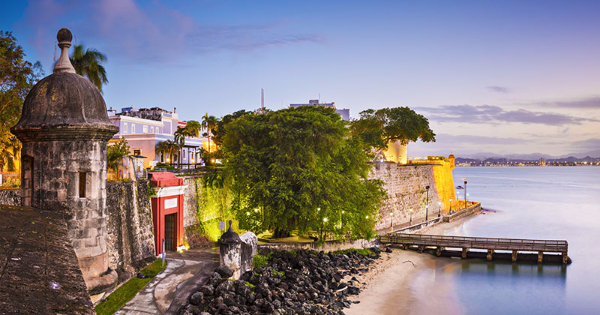 Flights from London to San Juan - Isla Grande