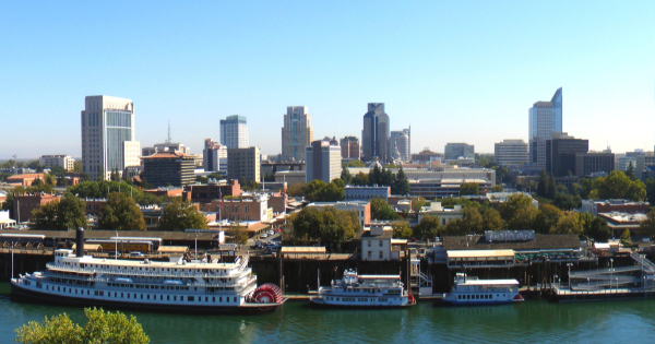 Flights to Sacramento -  Metropolitan