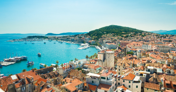 Flights from London to Split