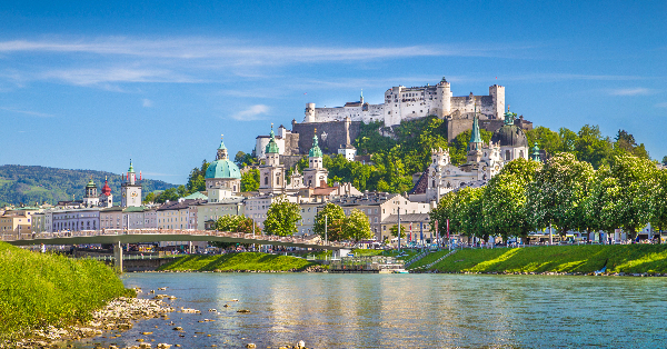 Flights from Edinburgh to Salzburg