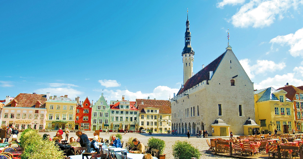 Flights from London to Tallinn - Ulemiste