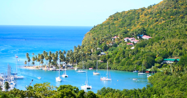 Flights New York City - Saint Lucia Windward Islands