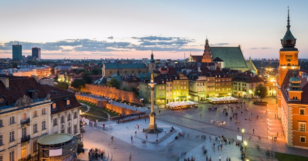 Flights from Hurghada to Warsaw - F. Chopin