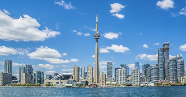 Flights from Cardiff to Toronto