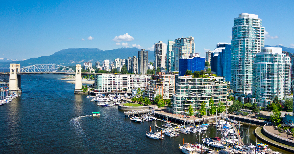Flights from London to Vancouver - International