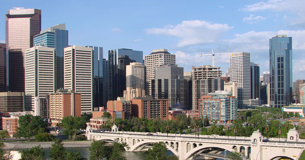 Flights from Newcastle to Calgary