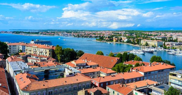 Flights from London - Gatwick to Zadar